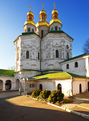 Church of All the Saints. National Kiev-Pechersk museum.