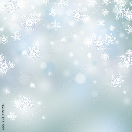 Light abstract Christmas background