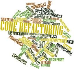 Word cloud for Code refactoring