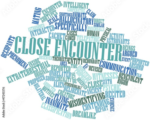 Word cloud for Close encounter