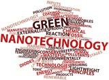 Word cloud for Green nanotechnology