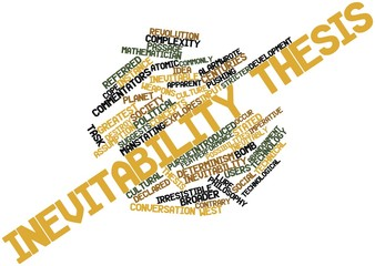 Word cloud for Inevitability thesis