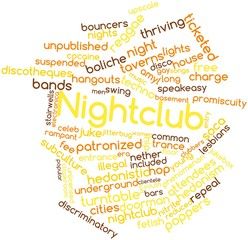 Word cloud for Nightclub