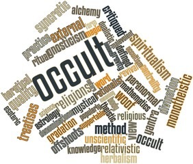 Word cloud for Occult