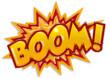 Leinwandbild Motiv comic boom