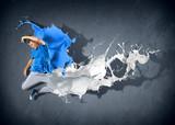 Fototapety Modern style dancer