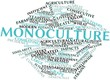 Word cloud for Monoculture