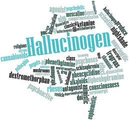 Word cloud for Hallucinogen