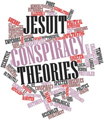 Word cloud for Jesuit conspiracy theories