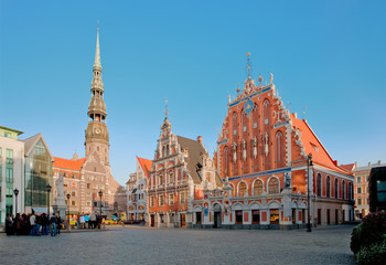 House of Blackheads in Riga, Latvia