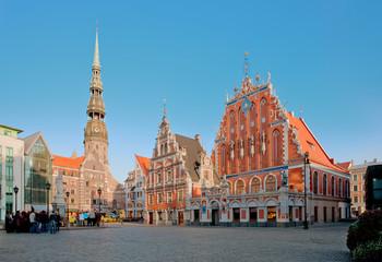 House of Blackheads in Riga, Latvia