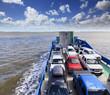 QE FI Ferry Cars onboard