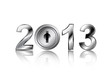 security concept 2013 new year