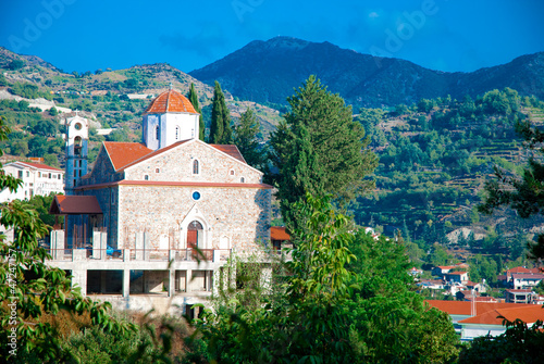The old Church in Troodos Mountains