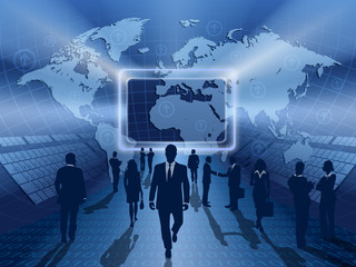business online blue