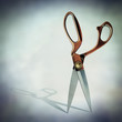 open scissor shadow