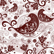 Valentine repeating pattern