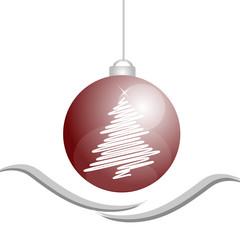 decorazione natalizia pallina