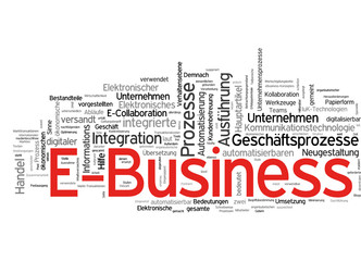 E-Business (deutsche Tag-Cloud)