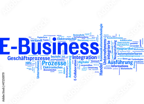 E-Business (deutsche tag cloud)