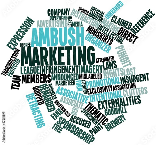 Word cloud for Ambush marketing