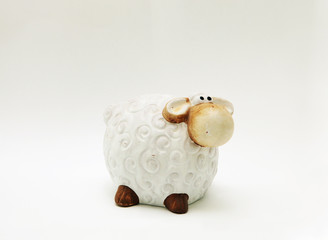Toy sheep or lamb