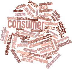 Word cloud for Consumer