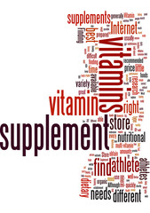 Athlete Dietary Vitamin Supplements