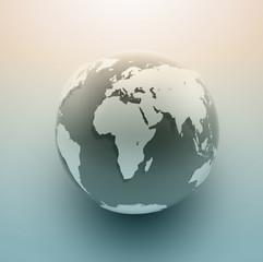 Vector Globe Background