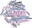 Word cloud for Slavery