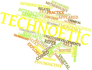 Word cloud for Technoetic