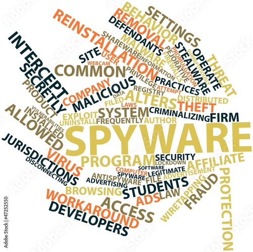 Word cloud for Spyware