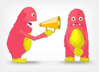 Funny Monster. Speaker.