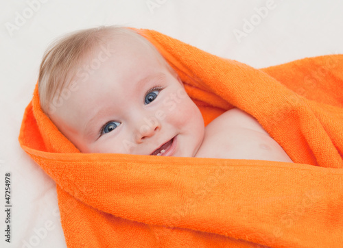 boy in orange