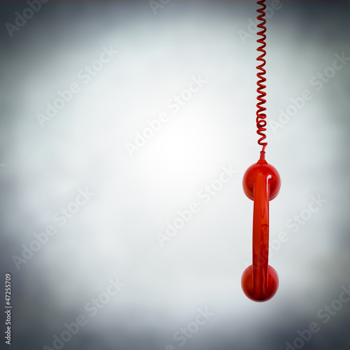 red phone hanging