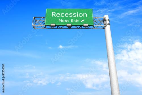 Nächste Ausfahrt - Rezession