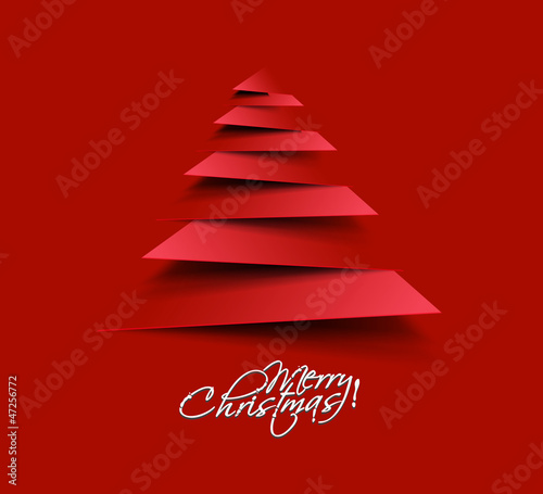 christmas tree, design, vector illustration. - 47256772