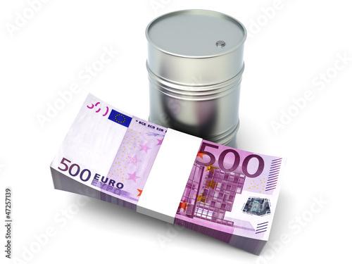 Erdöl in Euro