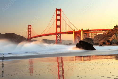 Poster Golden Gate Bridge San Francisco