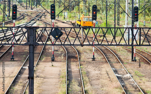 Railway tracks, turnout and traction - 47257518