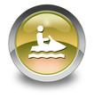 """Yellow Glossy Pictogram """"Personal Watercraft"""""""