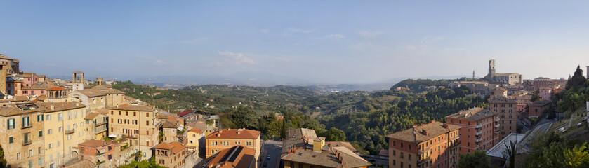 Tuscany sigths, perugia panorama
