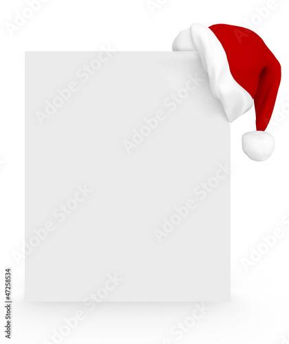 3D Christmas banner