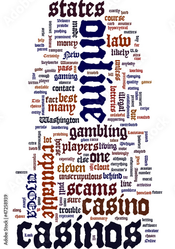 Beware online casino scams