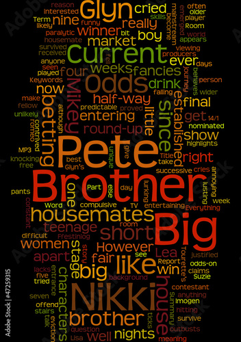 Big Brother 7  Half Term Report Part One