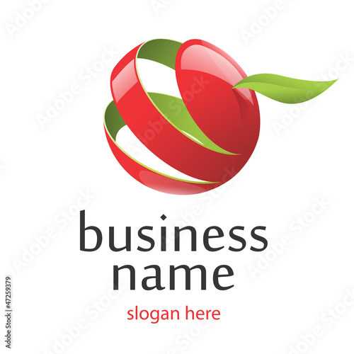 logo apple red 261
