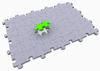 green solution puzzle