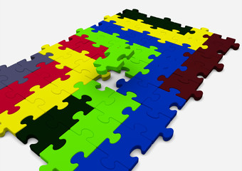 colored solution puzzle