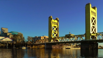 Tower Bridge over Sacramento River