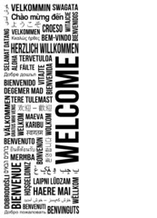 welcome banner left